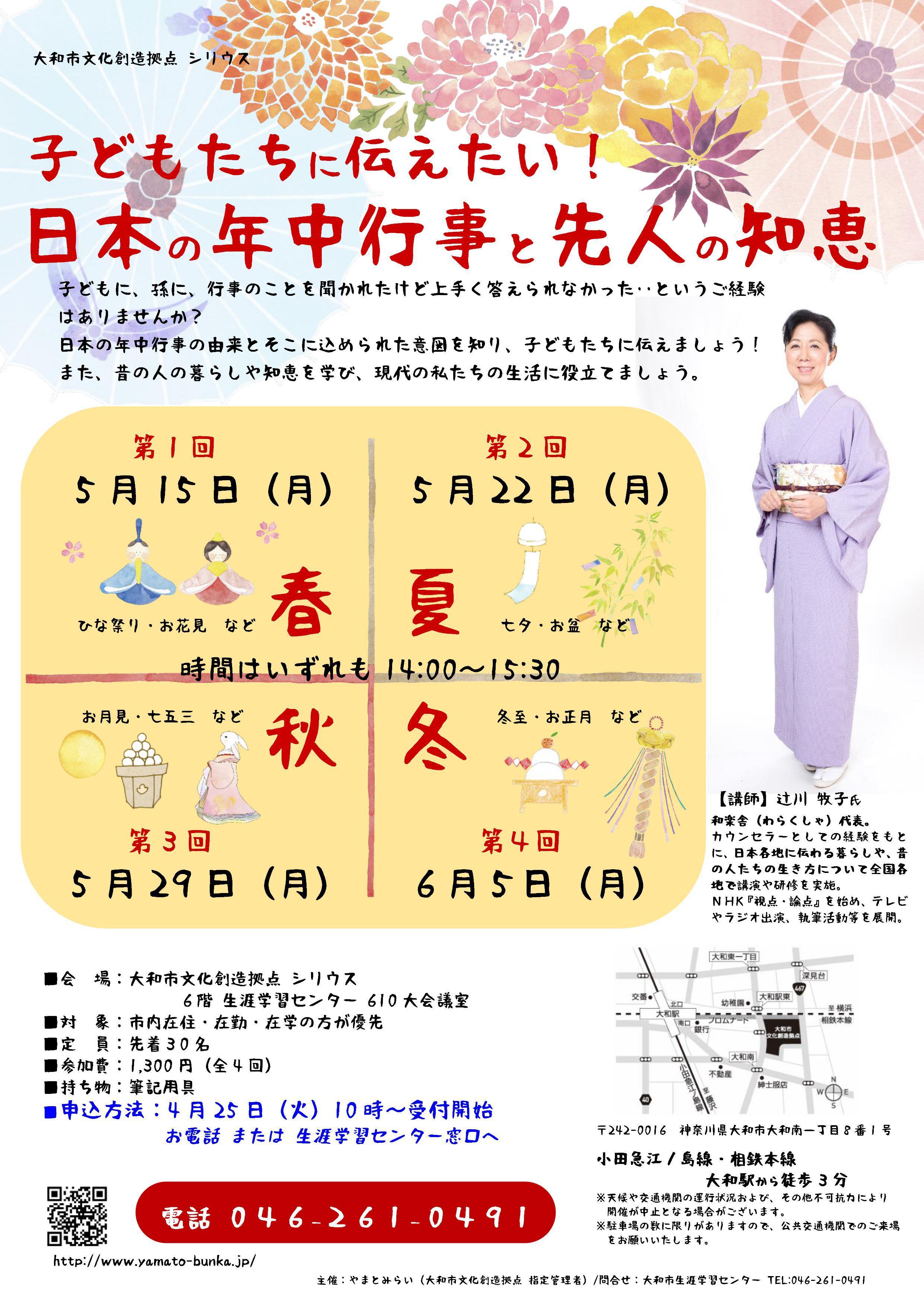 子どもたちに伝えたい!日本の年中行事と先人の知恵